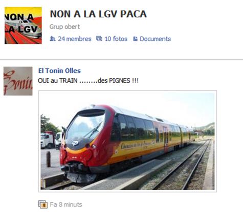 Òc al tren en Provènça