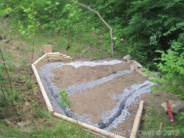 Designed to dwell creating an outdoor fire pit for Yard drainage slope