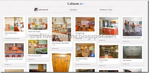 Pinterest cabinet board