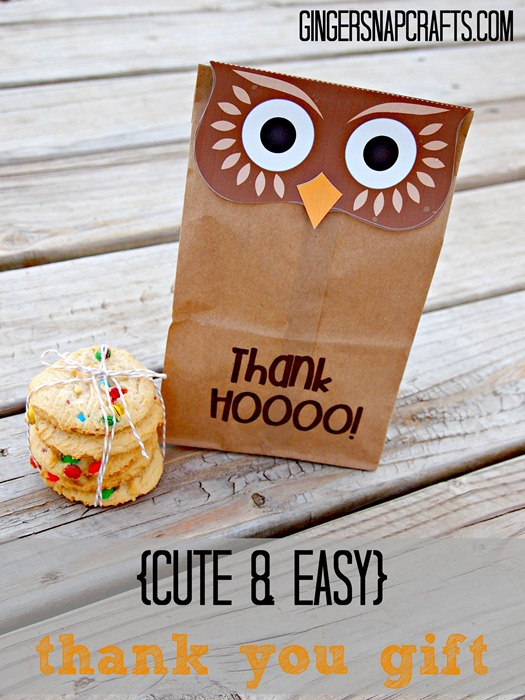 cute & easy thank you gift