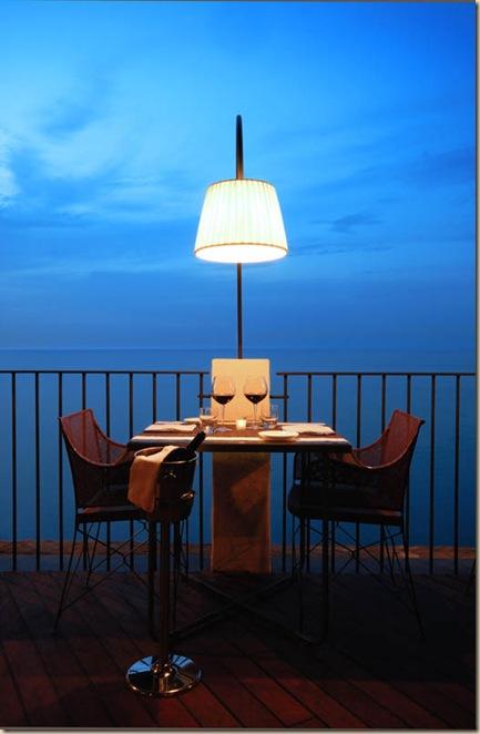 Restaurant de l'hôtel Grotta Palazzese (9)