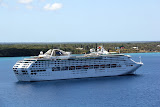 Dawn Princess at Anchor in the Bay - Lifou, New Caledonia