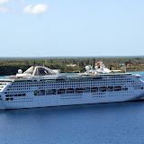 Dawn Princess at Anchor in the Bay - Lifou, New Caledonia