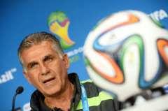 Iran coach Carlos Quieroz