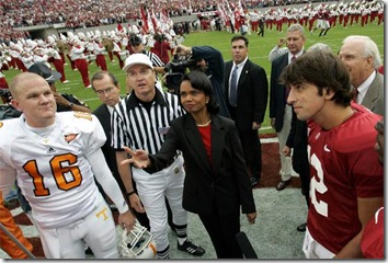 Condoleezza Rice Bama game