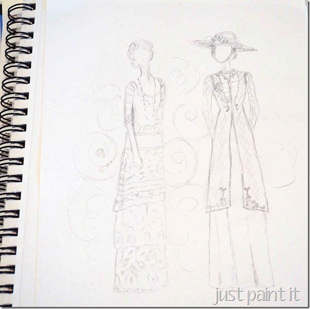 Downton-Abbey-Sketch-2