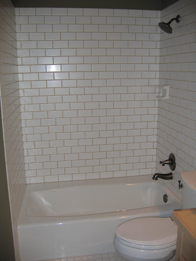 Tub surrounds subway tile bathtub surround