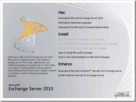 Exchange 2010 Beta, First Look – Part 1/3 exchange 2010 exchange