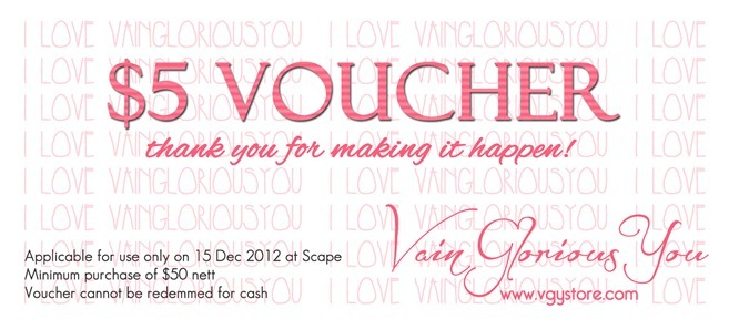VGY Maybelline Scape Voucher