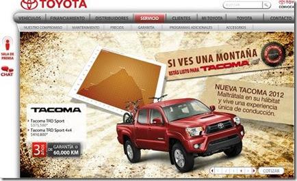 Toyota Mexico Autos En Toyota Com Mx 2014 Mejores