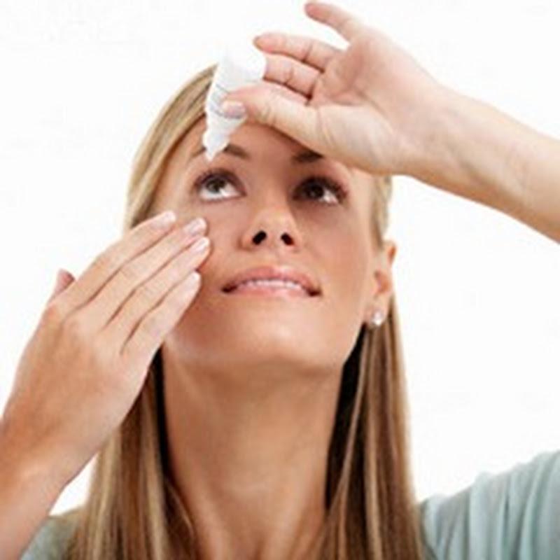 هل تستخدم قطرة العين بطريقة صحيحة؟