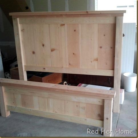 Red Hen Home Handbuilt Bedroom Bed 1