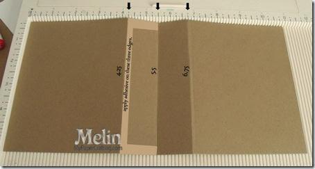 ornament card holder folding-450
