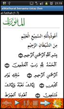 al-ma'thurat bersama Ustaz Don Daniyal - phone mode