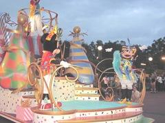 Disney trip parade mickey minnie