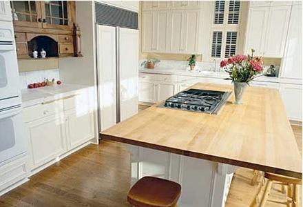 6 consejos sobre el uso de las islas en las cocinas - Cocina con isla central ...