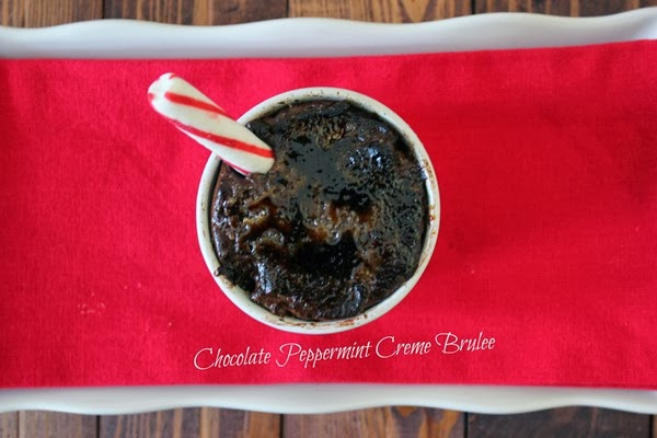 Easy Chocolate Peppermint Creme Brulee Recipe