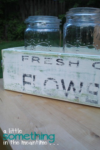 Mason Jar Planter Box Left WM