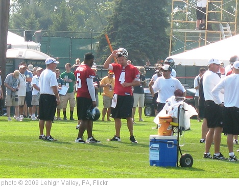 'Eagles QBs Donovan Mcnabb and Kevin Kolb' photo (c) 2009, Lehigh Valley, PA - license: http://creativecommons.org/licenses/by/2.0/