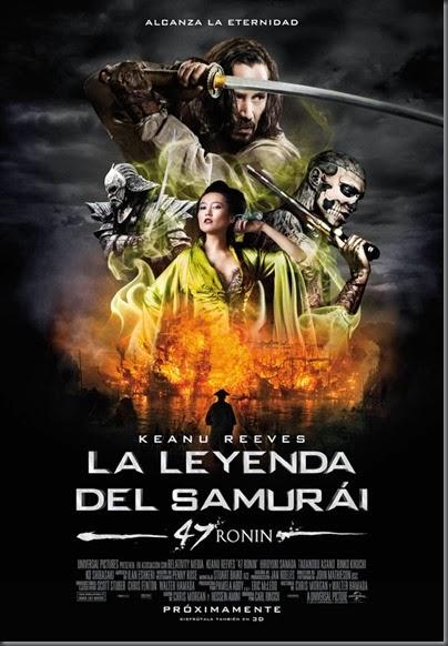 la leyenda del samurai