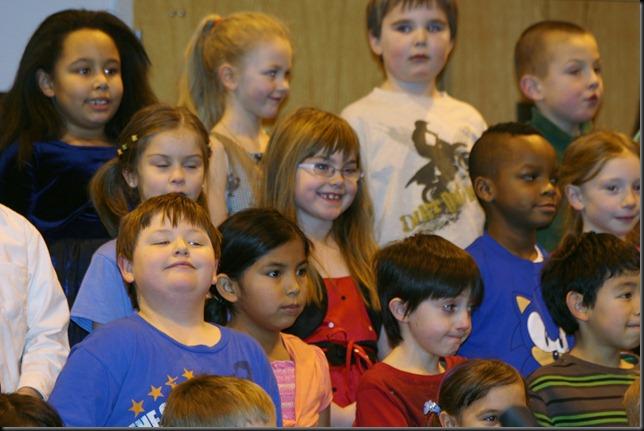 Christmas Concert 1st Grade 2011