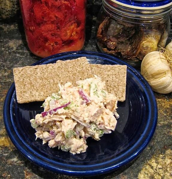 Smoked Chicken Salad with Fresh Fennel