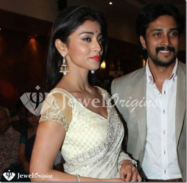 Shriya Saran, Prem Kumar at Chandra Movie Audio Launch Photos