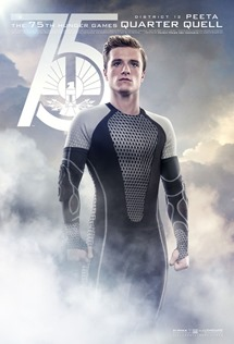 Catching Fire Victor Poster - Peeta