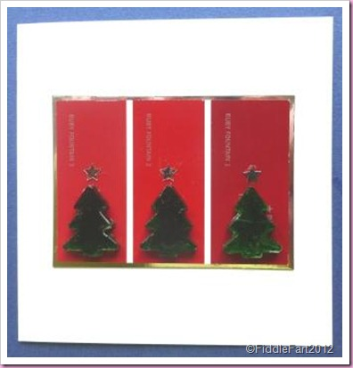 Paint Colour Chart Christmas Card Glass Christmas Tree Nuggets