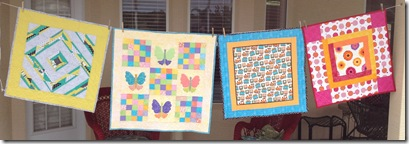 finished baby quilts