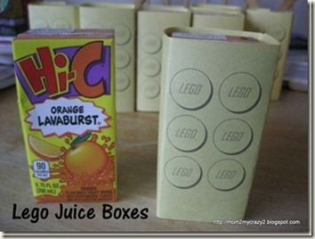 Lego Juice Boxes