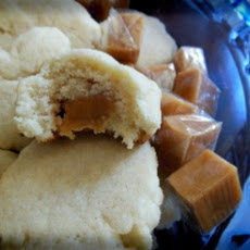 Caramel Stuffed Cookie
