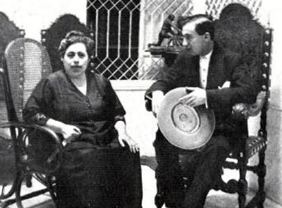 Joselito con su madre y hermanos-as