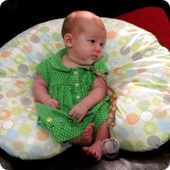 Liberty in Green Dress