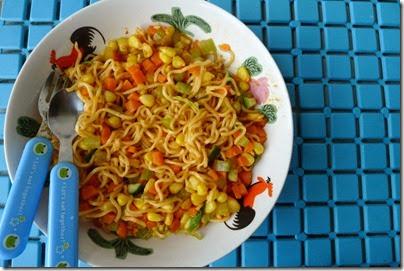 Spicy Mamak's Maggie Goreng
