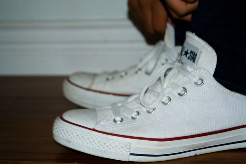 white-converse-chucks