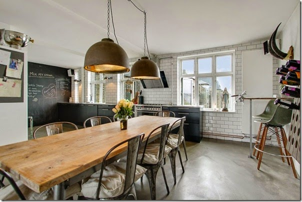 case e interni - loft - stile scandinavo - industriale (4)