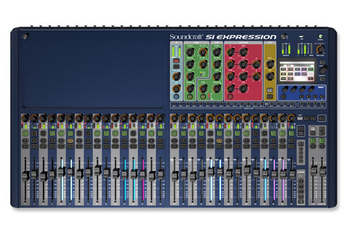Soundcraft Si Expression 3 Top 500