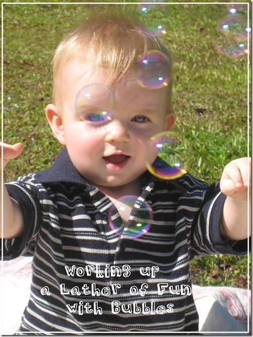 Working Up a Lather of Fun with Bubbles