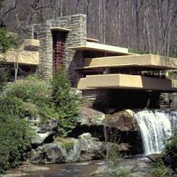 09.- F. Lloyd Wright. Casa de la Cascada