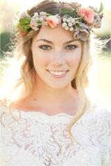 Acconciature sposa bohemien
