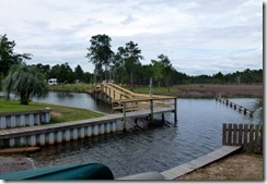 Boat ramp and bridge at Avalon Landing