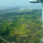 Anflug auf Arusha © Foto: Angelika Krüger | Outback Africa Erlebnisreisen