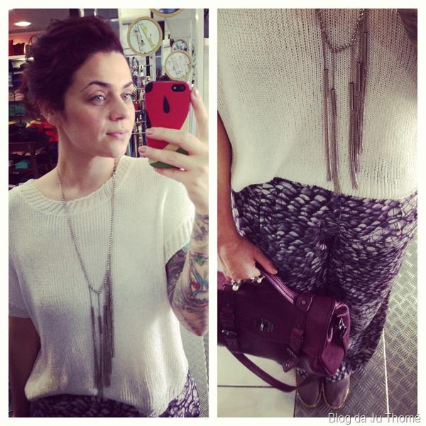 look com calça pantalona estampada e tricot off white (2)