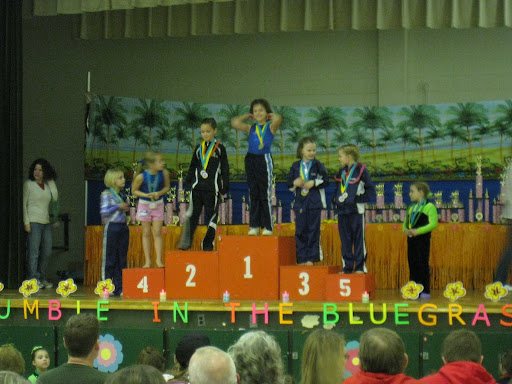 Natalie 3rd & Brooklyn 5th - beam - 8 JR