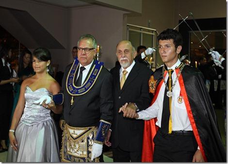 Simão Jatene recebeu Comenda da Glepa