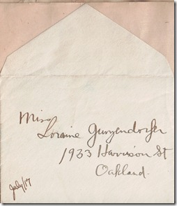 Envelope 1917