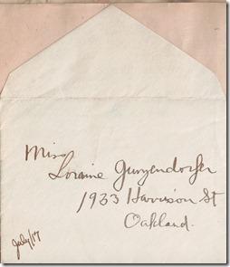 Envelope 1917