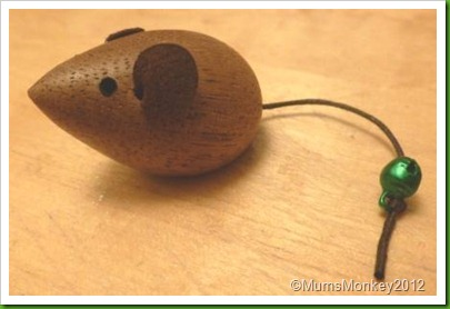 Little Wooden Mouse