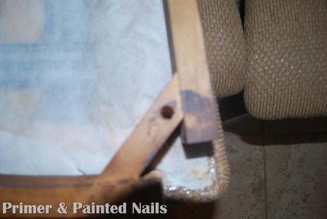 Dining Chairs Before - Primer & Painted Nails (3)